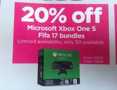 Xbox One S 1TB @ Currys/PC World for £239.20 instore (Wednesbury)