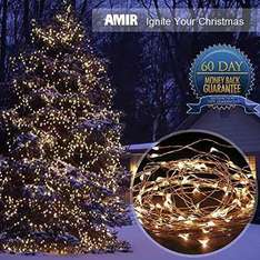 100 led solar panel fairy/garden lights £10.99 (prime) Sold by Amir UK and Fulfilled by Amazon