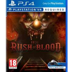 £12.00 Until Dawn: Rush of Blood PS4 & PSVR (Prime only) £15.99 (Non Prime) at Amazon