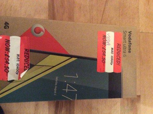 Vodafone Smart Ultra 6 Asda Stafford - £54.50