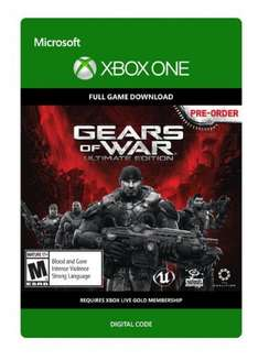 [Xbox One] Gears of War: Ultimate Edition (CDKeys With Facebook 5%) £9.49