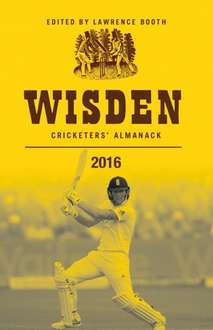 Wisden Cricketers' Almanack 2016 Hardcover £12.94 Prime (+£3.00 non-prime) @ amazon.co.uk