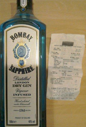 Bombay Sapphire 1 litre £14.76 @ Tesco Express