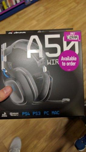 Astro A50 £129.99 @ game