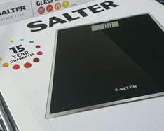 Salter Bathroom Weighing Scales £3.99 @ Aldi