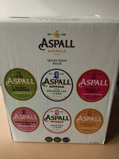 Aspall Selection Pack 6x500ml - £5 @ Tesco in store
