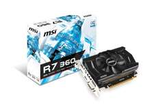 MSI R7 360 2GB OC Graphics card £73.26 @ cclonline with free delivery