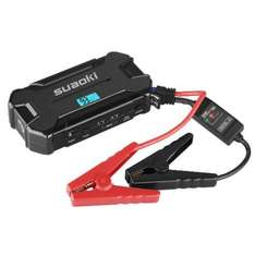 Suaoki D21 Car Jump Starter Battery 15000mAh 500A 12V with Intelligent Clamps, External Power Bank, LED Flashlight, Dual USB 5V, DC Output 12V 16V 19V £20 just dropped from £33.33 Sold by Suaoki UK and Fulfilled by Amazon