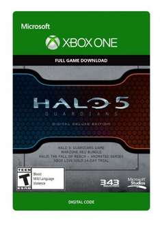 Halo 5 Guardians Digital Deluxe Edition Xbox One - Digital Code ( £15.19 with cdkeys 5% fbook code )