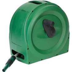 25m hose and reel £20 @ Homebase