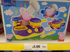 Peppa Singalong Kitchen - Only £5 in Tesco!