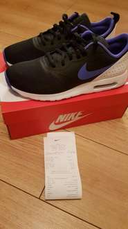 NIKE AIR MAX TAVAS WAS £92.00 NOW REDUCED TO £29.00 @ Nike Outlet Glasgow