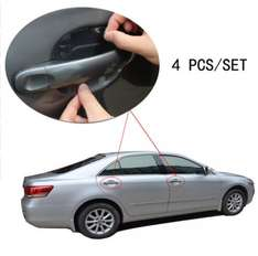 4 pcs Universal Invisible Car door Handle Stickers Car Sticker Protection Protector Film Scratches Resistant Cover 00.31p delivered @ aliexpress (Jteng Car companion)
