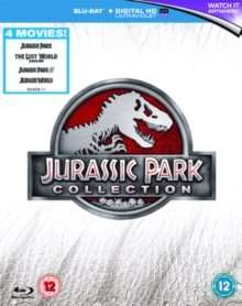Jurassic Park Collection, Blu-ray & Digital HD - 4 Movie Collection, £10.80 with Code (need to spend minimum of £15) Otherwise £11.99 HIVE