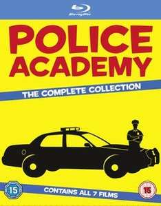 Police Academy - The Complete Collection Blu-ray £10.00 with Free Delivery @ Zavvi