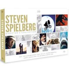 Steven Spielberg Directors Collection Blu-ray (8 Films) £15.00 with Free Delivery @ Zavvi