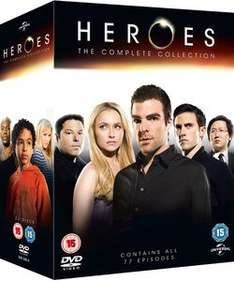 Heroes - The Complete Collection Seasons 1-4 Box Set DVD £12.50, Blu-Ray £18.75 both with free delivery @ Zavvi