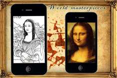 Coloring - World Masterpieces App for IOS @ Itunes