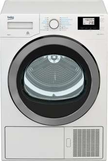 Beko DPH8756 8kg A+++ Heat Pump Tumble Dryer - with drain £399.99 @ Ideal kit (£806 over 8 years)