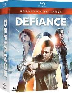 Defiance seasons 1-3 Blu Ray at £12.99 at Zavvi