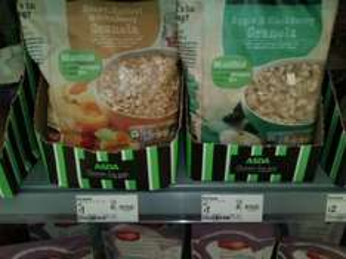 it's granola half price £1 Asda