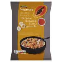Waitrose Banana Papaya & Honey Oat Clusters 2 x 1kg packs for £2.20 with PYO