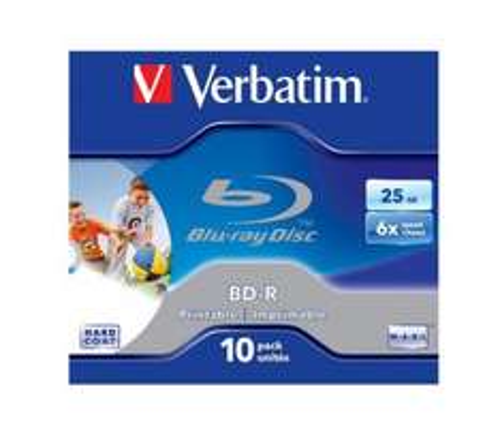 VERBATIM 6x Speed BD-R Blank Blu-ray Discs - Pack of 10 £2.97 @ currys.com