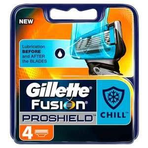 Gillette Fusion Proshield Chill 4 Pack £7.50 @ Asda