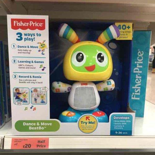 Fisher Price BeatBo £20 half price at Sainsburys