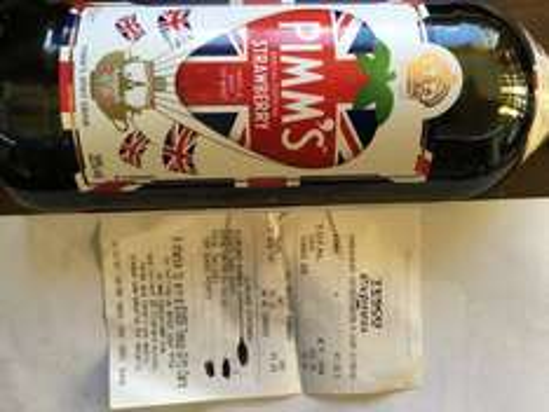 Pimms Strawberry and Mint 1 litre bottles £7.39 @ Tesco Local,  Ditherington, shrewsbury
