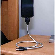bobine steel flexible android charge cable and stand £2.50 add on Amazon item
