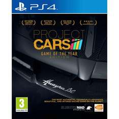 Project Cars - Game of the Year Edition PS4/XB1 - £13.99 - GAME Instore