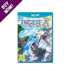Rodea the Sky Soldier - Wii U/Wii - NISA European Store - £17.99 (plus £2.49 delivery)