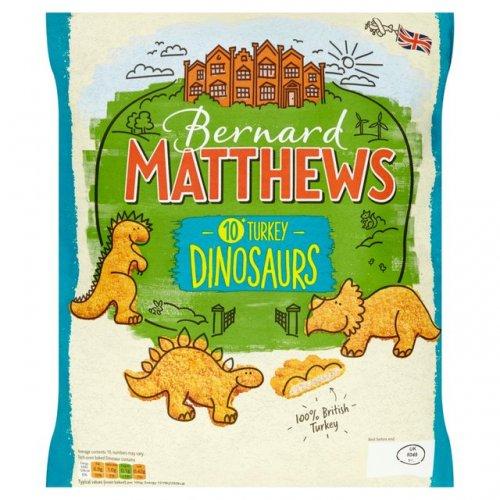 £1 Morrisons - Bernard Matthews Turkey Dinosaurs/Drummers/Burgers/Kievs