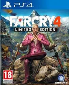 Far Cry 4: Limited Edition for PS4 (Used) £6.55 @ musicMagpie