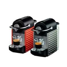 KRUPS XN300540 Nespresso Pixie Coffee Machine in Red / Titanium with 3 year guarantee £59 + Free Delivery or C&C @ Currys