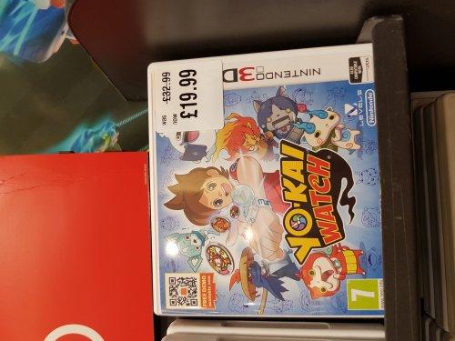 Yo Kai Watch 3DS £19.99 @ HMV