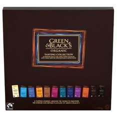 Green & Black's Organic Tasting Collection, 395g, £4.67 at Amazon with S&S