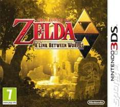 The Legend of Zelda: A Link Between Worlds (3DS) £7.99 Delivered (Using Code) @ Music Magpie (Pre Owned)