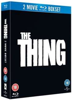 The Thing (1982)/The Thing (2011) (Blu-Ray) £4.14 Delivered (Using Code) @ Zoom (£4.50 @ Amazon With Prime)