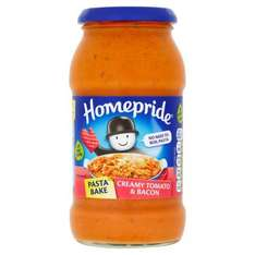 All Homepride pasta bake products Half Price 79p @ tesco