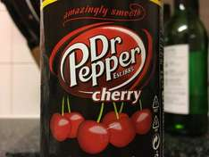 Dr Pepper Cherry 500ml for 49p @ Home Bargains