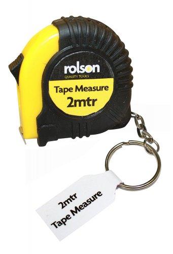 Rolson Rubberised Tape Measure, 2 m 84p Amazon add on