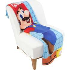 Mario Fleece Blanket - nintendo.co.uk £8.98 delivered