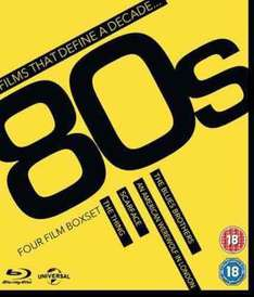Films that define a decade 80's - only £15 (£13.50 with code) at zoom.co.uk