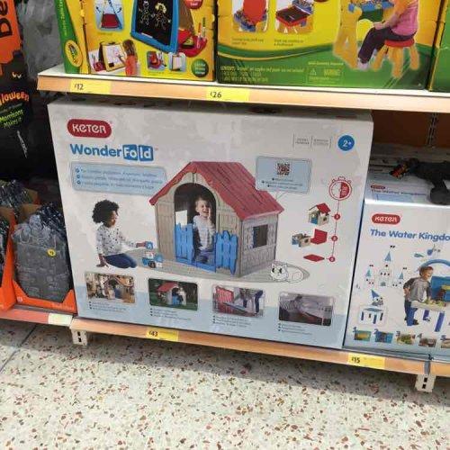 Keter wonderfold playhouse. £43 in Morrison's.