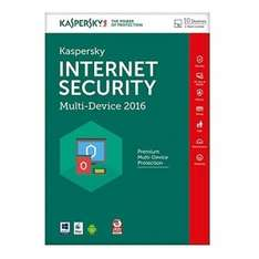 KASPERSKY INTERNET SECURITY 2016 MULTI-DEVICE - 10 DEVICES - FFP (PC/ANDROID/MAC) £17.99 / £17.09 with code Mymemory