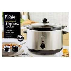 Asda Home shopping. Slow cooker 3L £7