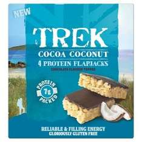Trek Protein Bars (4 Pack) all Flavours 2 packs for £4.00 @ Asda
