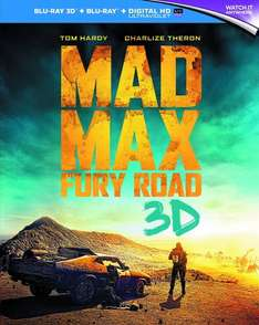 [3D Blu-Ray - 2 for £14.99] Mad Max: Fury Road, San Andreas, Pan, In The Heart Of The Sea, Edge of Tomorrow @ EntertainmentStore via eBay (2 for £9.99 Steelbooks - Comment 1)